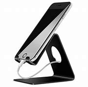 Lamicall Cell Phone Stand, Phone Dock : Cradle, Holder, Stand Compatible with Switch, All Android Smartphone, Phone 11 Pro Xs Xs Max Xr X 8 7 6 6s Plus 5 5s 5c Charging, Accessories Desk – Black